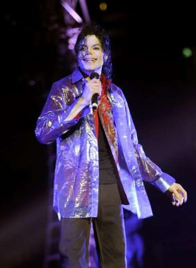Michael Jackson Photo: Kevin Mazur, AP