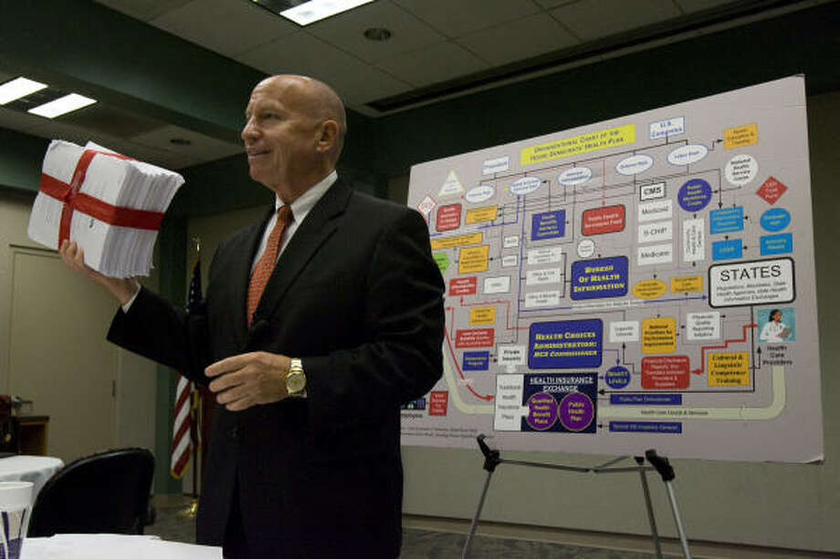 Rep. Kevin Brady said Medicare needs to be fixed before new reforms are enacted. Photo: Johnny Hanson, Chronicle