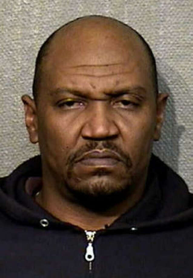 Vernon Ray Thompson, 47, is charged with aggravated robbery. He is known to frequent the Normandy/Wood Forest to Uvalde area of town. He may be driving a 2006 to 2009 off-white or tan Dodge Charger. Photo: Crime Stoppers