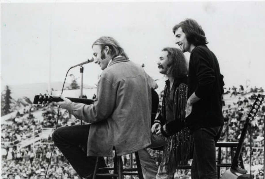 Crosby, Stills & Nash won the 1969 Grammy as best new artist. Photo: Chronicle File