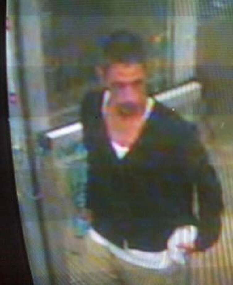This man is suspected of robbing a northeast Harris County service station on Aug. 19. Photo: Surveillance Photo