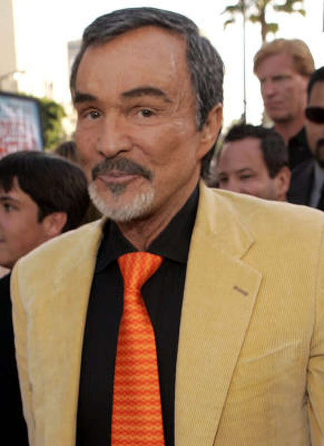 After an alleged addiction to prescription drugs and alcohol, Burt Reynolds has checked himself into a Florida rehab center. Photo: MATT SAYLES, AP
