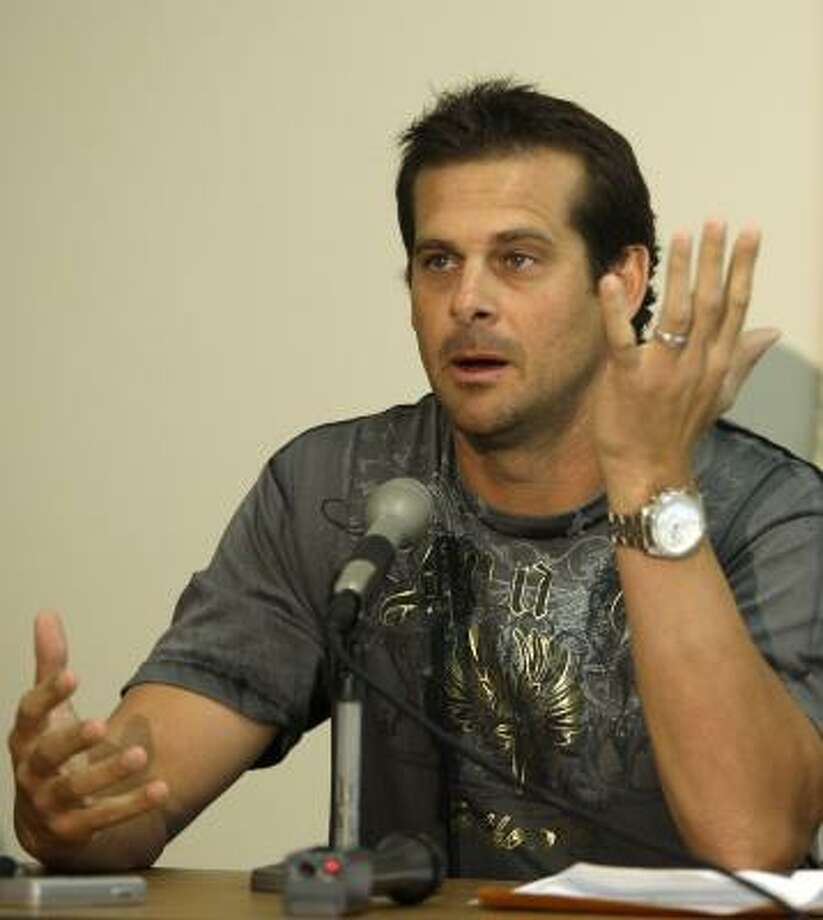 Aaron Boone has scheduled open heart surgery for March 26. Boone needs to replace an aortic valve. Photo: Rob Carr, AP