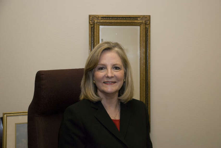 READY TO LEAD: Wanda Munson, dean of enrollment management and San Jacinto College registrar, will serve as the 2009-10 president of the American Association of Collegiate Registrars and Admissions Officers.