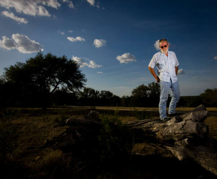 Former Texas State math and computer science professor Dr. Grady Early stands on the property that will be his final resting place at Freeman Ranch, the location of the Forensic Anthropology Center at Texas State in San Marcos. Photo: Billy Smith II, Chronicle