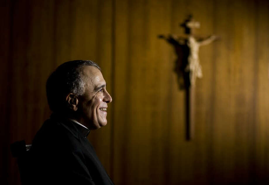 "Cardinal Daniel DiNardo — in opposing coverage for abortion in the health care bill — says the Catholic Church believes ""legislation that violates this moral principle is not true health care reform and must be amended to reflect it."" Photo: Nick De La Torre, Chronicle"