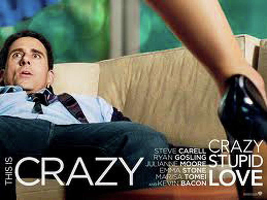 """Crazy, Stupid, Love,"" a comedy starring Steve Carell, Ryan Gosling, Emma Stone and Julianne Moore, is playing in area movie theaters. Photo: Contributed Photo / Westport News contributed"
