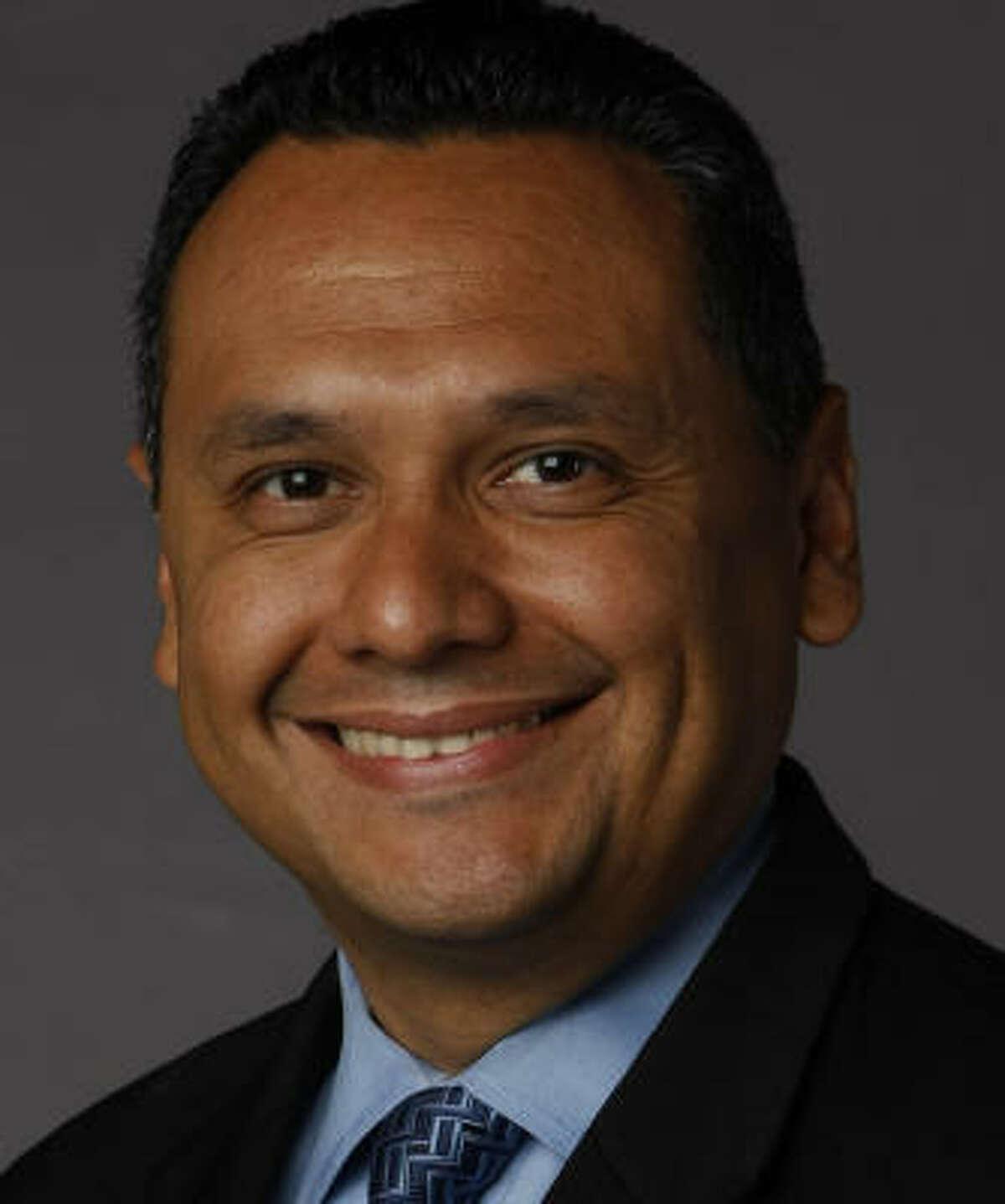 Candidate Ed Gonzalez