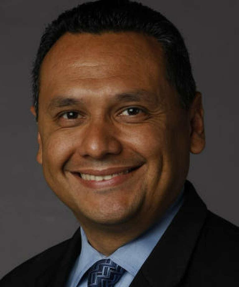 Candidate Ed Gonzalez Photo: Julio Cortez, Chronicle