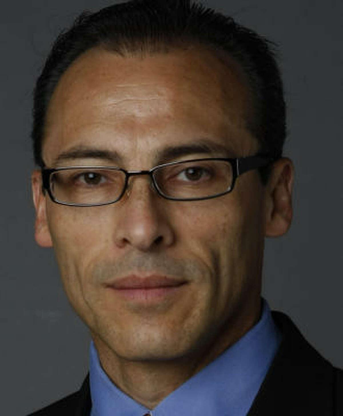 Candidate Gonzalo Camacho