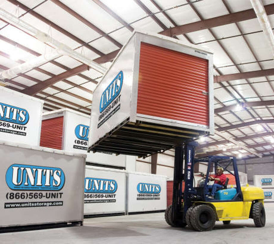 Units Mobile Storage of Houston has leased warehouse space in the Hammerly Business Park  and plans to open in September. Photo: Units Mobile Storage