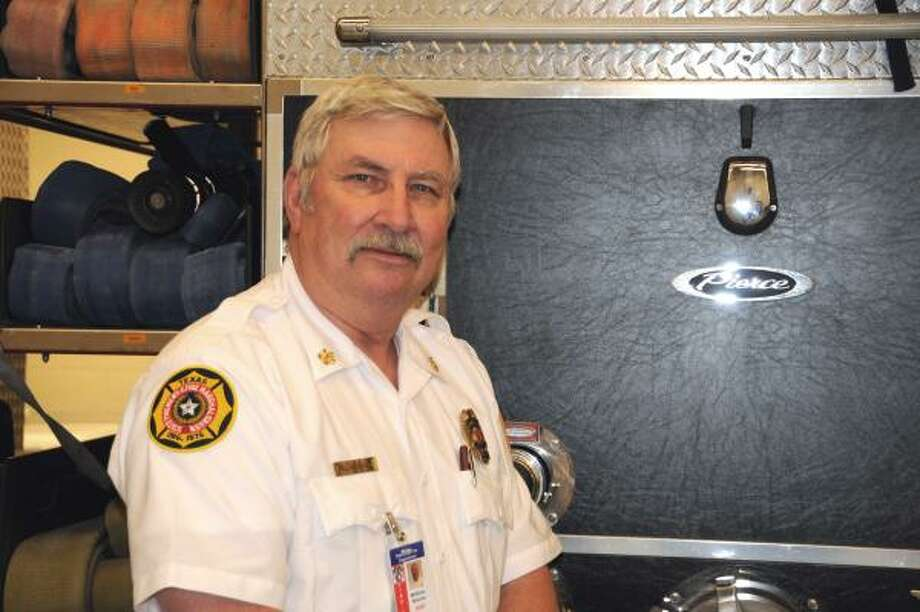 NEW MAN IN CHARGE: William Bivens is the new chief of the volunteer Atascocita Fire Department. Bivens, 60, retired after 40 years with the Houston Fire Department but came back to the duty to help protect the community of Atascocita.