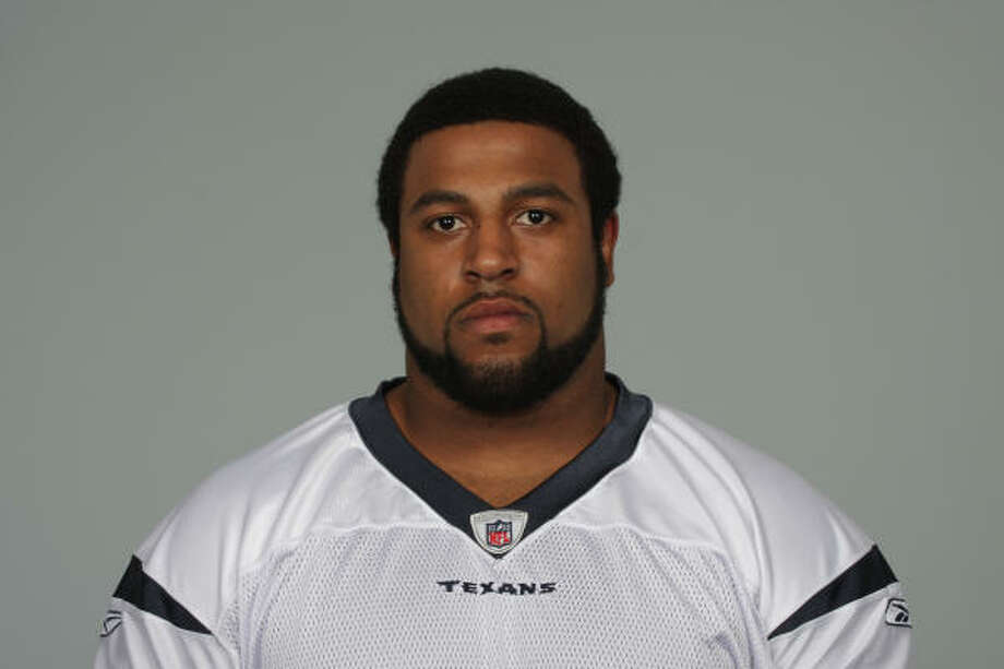 Texans tackle Duane Brown poses for a portrait in this May 22 handout photo. Photo: Houston Texans