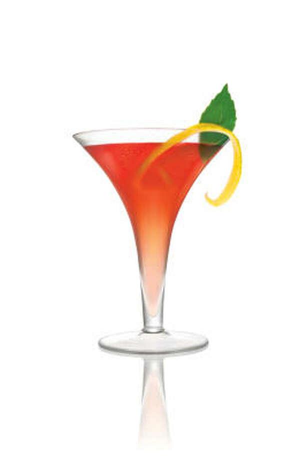 Cielo Rosso cocktail Photo: CAMPARI