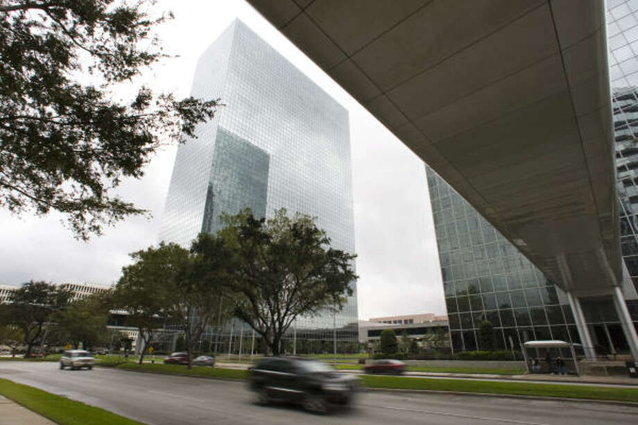 The Greenway Plaza complex is valued at $220.5, down 10 percent from the $245.4 million. Photo: Brett Coomer :, Chronicle