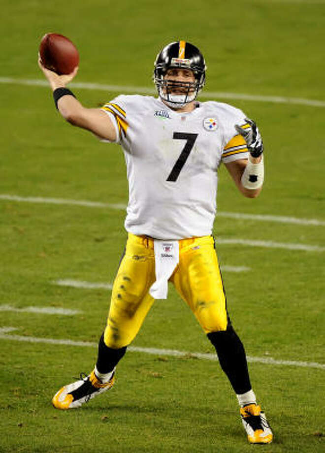 Big Ben and the Steelers begin their title defense against the Titans on Sept. 10. Photo: Lionel Hahn, MCT