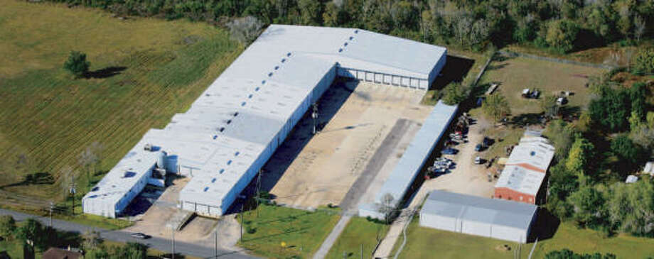 Eagle Hangers has purchased a 90,000-square-foot property at 8101 Fite Road in Pearland Photo: Pearland Economic Development Co.