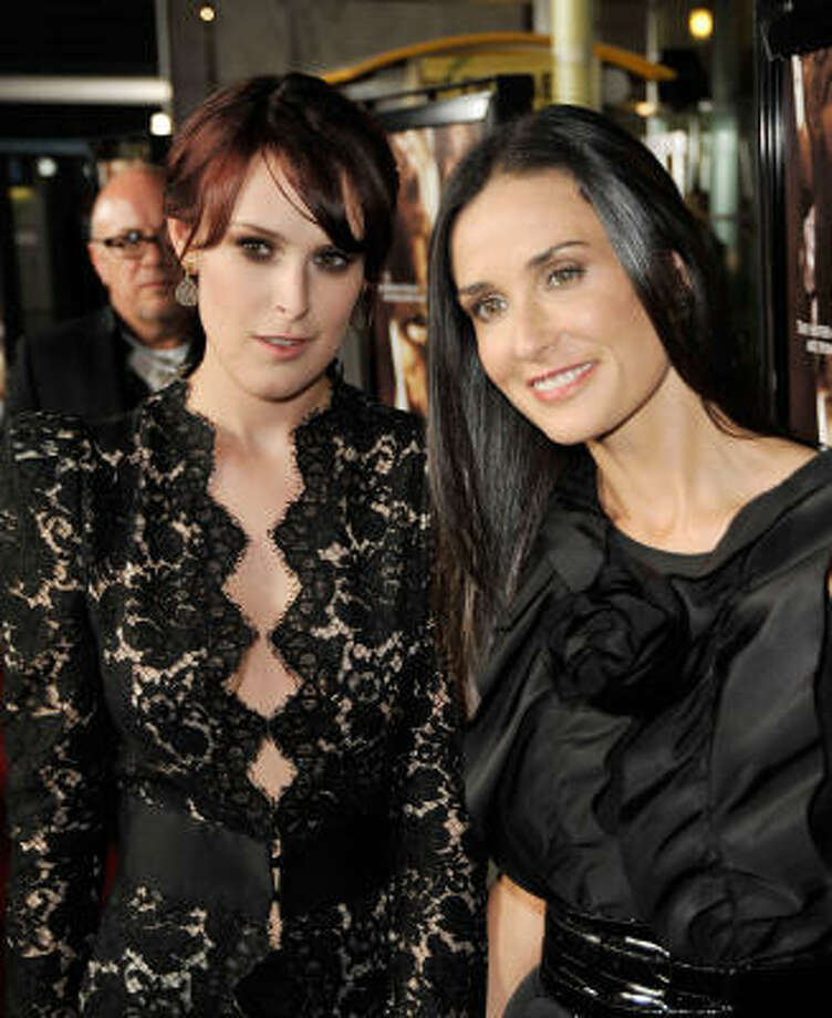 Rumer Willis is hoping for a baby brother. Photo: Kevin Winter, Getty Images