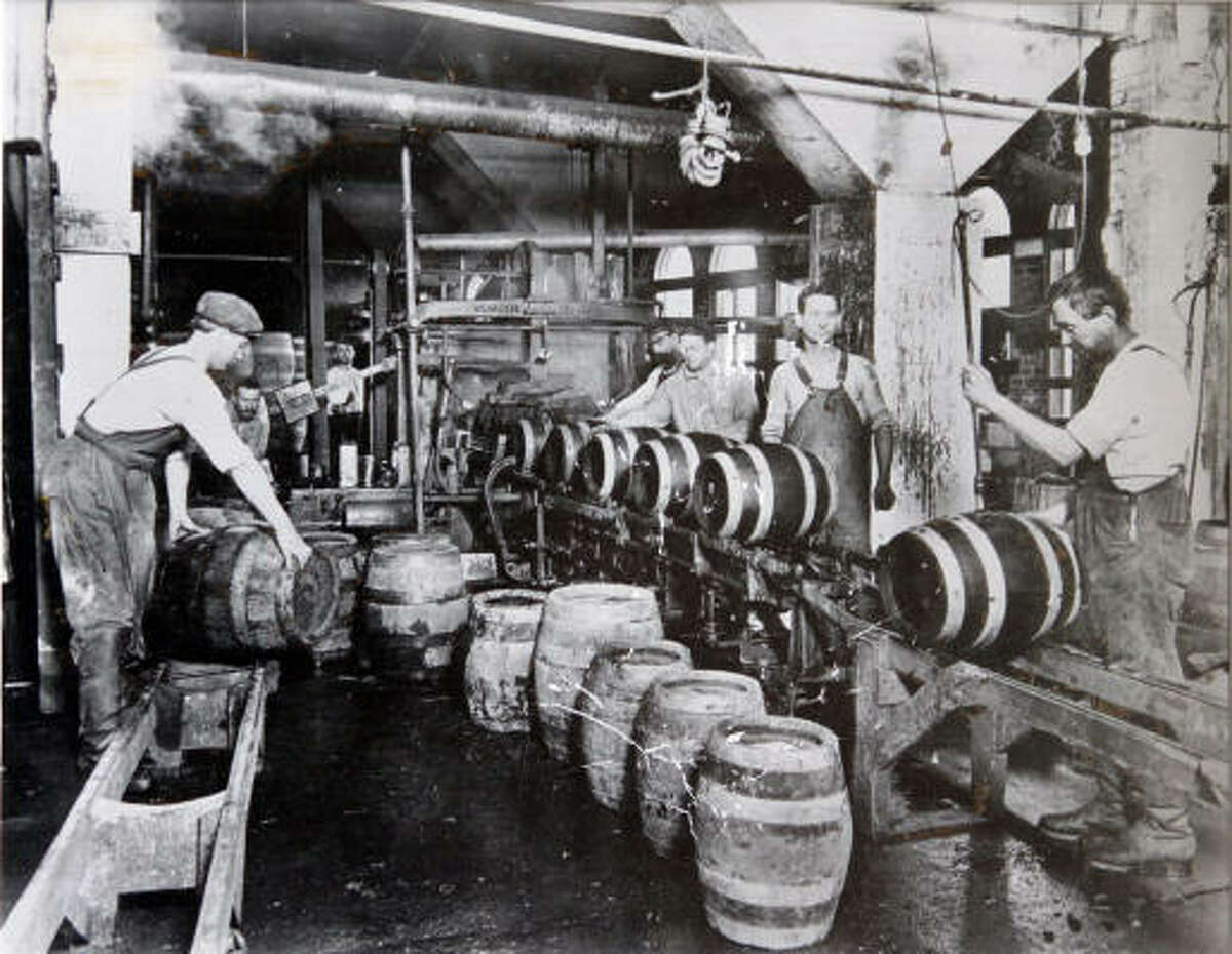 EARLIER DAYS: For decades the Magnolia Brewery, which was incorporated in 1887, played a large role in the Houston's local beer scene. A few years later, more breweries would operate in the city.