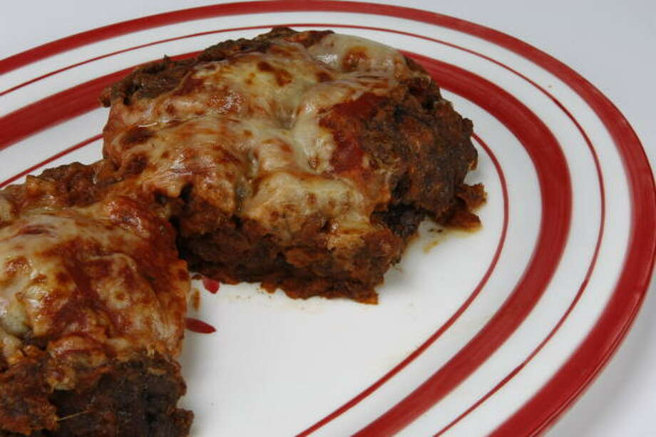 Pizza Meatloaf Photo: JULIO CORTEZ, CHRONICLE