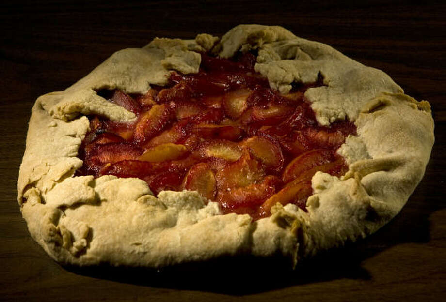 A Pluot Tart is a nice mix of sweet and tangy. Photo: JAMES NIELSEN, STAFF