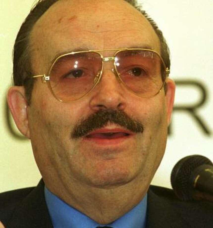 Mario Vazquez Ráña once owned the United Press International wire service. Photo: RENZO GOSTOLI, AP