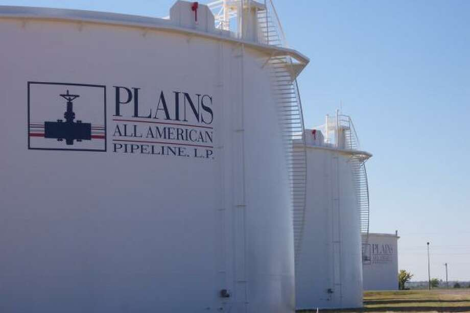 Plains All American Pipeline has  a major presence at the key oil hub in Cushing, Okla. The company had $30.1 billion in 2008 revenue. Photo: PLAINS ALL AMERICAN PIPELINE