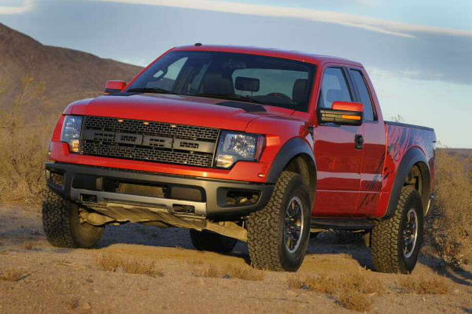 Nearly 39 percent of customers purchasing the edgy 2010 Ford F-150 SVT Raptor are choosing Molten Orange. Photo: Wieck
