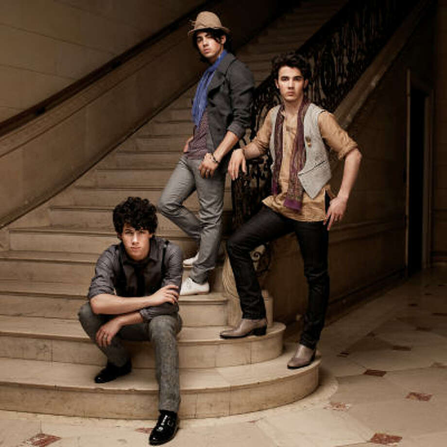 The Jonas Brothers are on a run with a hit record, a 3-D concert movie and appearances on TV shows. Photo: Hollywood Records