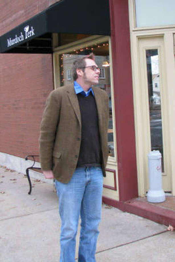 Marcus Eder, author of The Tao of Swayze. Photo: Miriam Moynihan, For The Chronicle