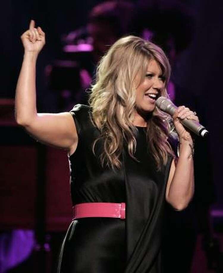 Natalie Grant performs at the Dove Awards show in Nashville, Tenn., in 2008. Photo: Mark Humphrey, AP
