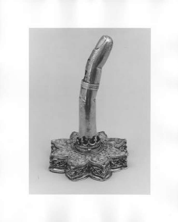 Reliquary in the Form of a Finger Photo: Hickey-Robertson