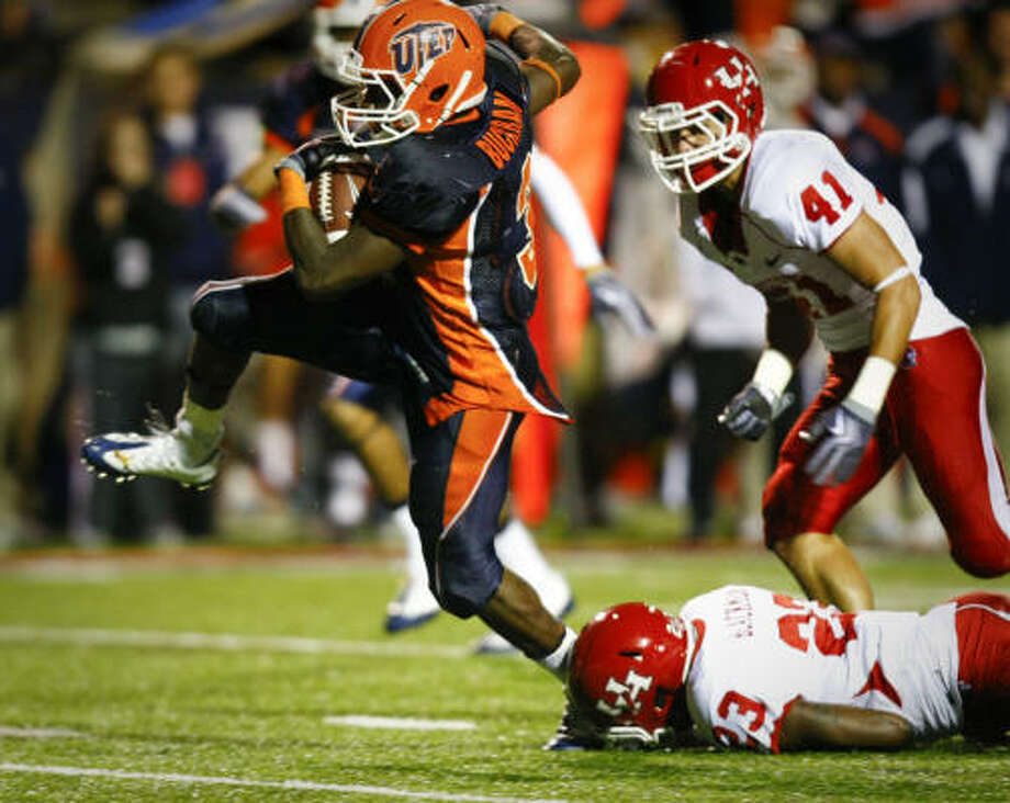 A loss at UTEP means that the No. 23 team in the country is still winless in its conference. Photo: Smiley N. Pool, Houston Chronicle