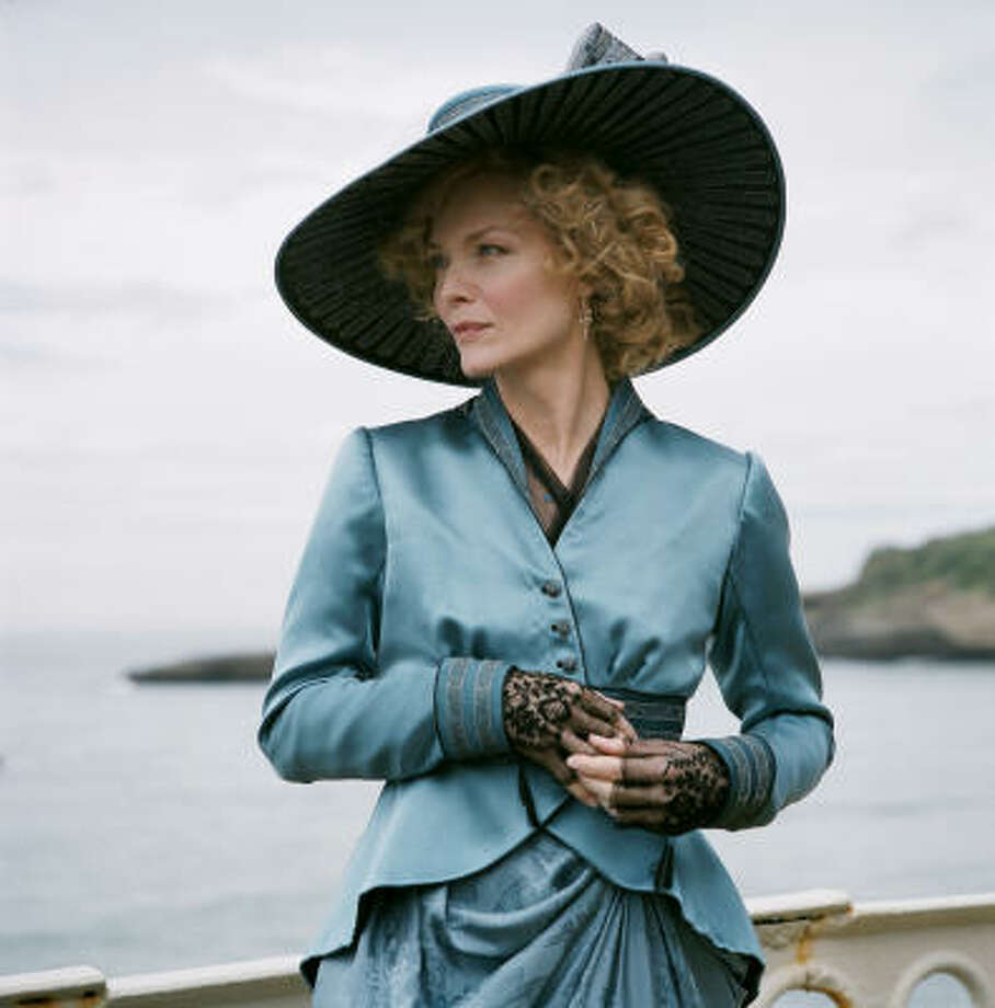 Michelle Pfeiffer stars in Cheri, a costume drama about a former courtesan who falls for a much-younger man. Photo: AP
