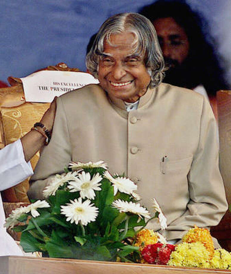 In India, top officials such as former president A.P.J. Abdul Kalam are exempt from airport searches. Photo: AP