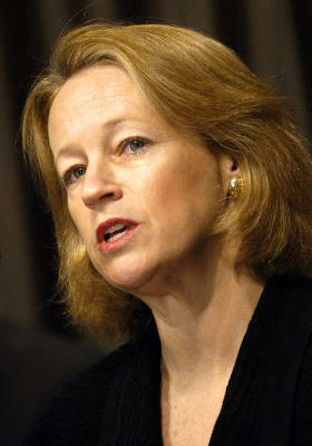 Mary Schapiro Photo: JAY MALLIN, Bloomberg News