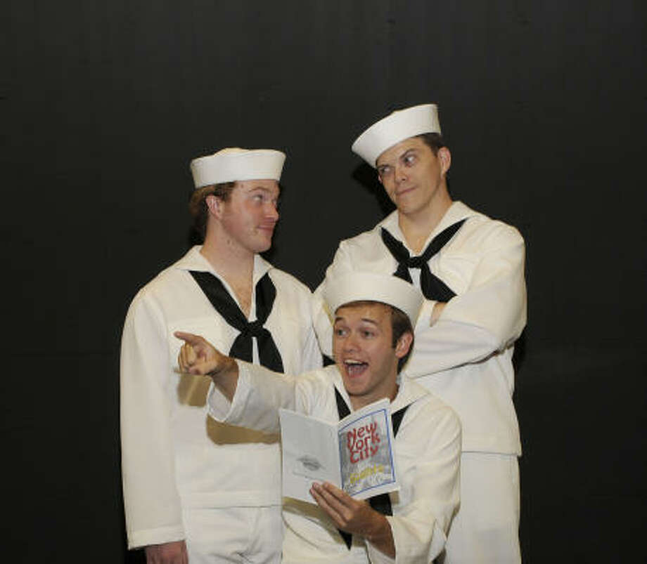 On the Townfollows three World War II sailors on a 24-hour leave in New York City — and the adventures that follow. Photo: Courtesy Photo