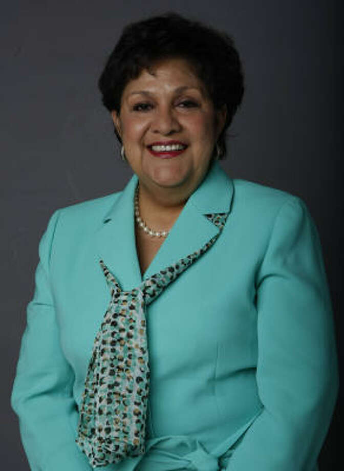 Yolanda Navarro-Flores. Photo: Julio Cortez, Houston Chronicle