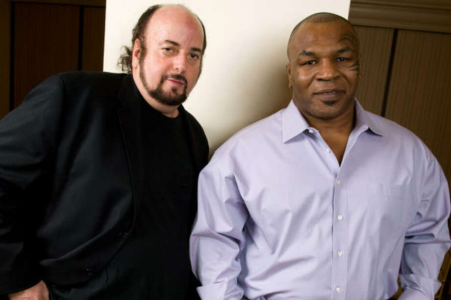 The friendship between director James Toback and boxer Mike Tyson goes back more than two decades, but the two only recently were able to find time for a documentary on controversial boxer. Photo: Charles Sykes :, Associated Press