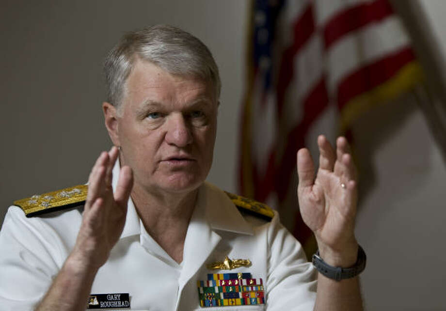 U.S. Navy Adm. Gary Roughead says diversity in higher ranks can translate into problem-solving ideas. Photo: Nick De La Torre, Chronicle
