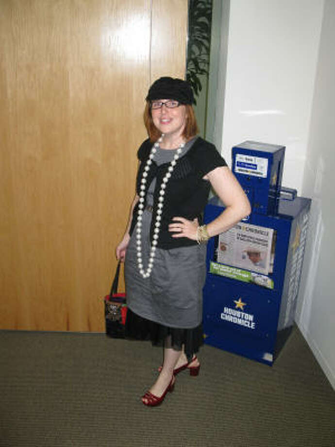 Nicki Britton shows off her style in the Chronicle's 1 dress, 5 days, 5 ways fashion challenge. Photo: Chronicle