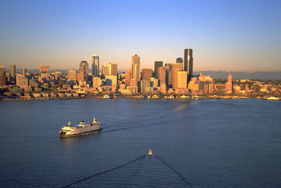 Start a Bainbridge Island adventure aboard a Washington State Ferry, which sails from Pier 52. Photo: MCT