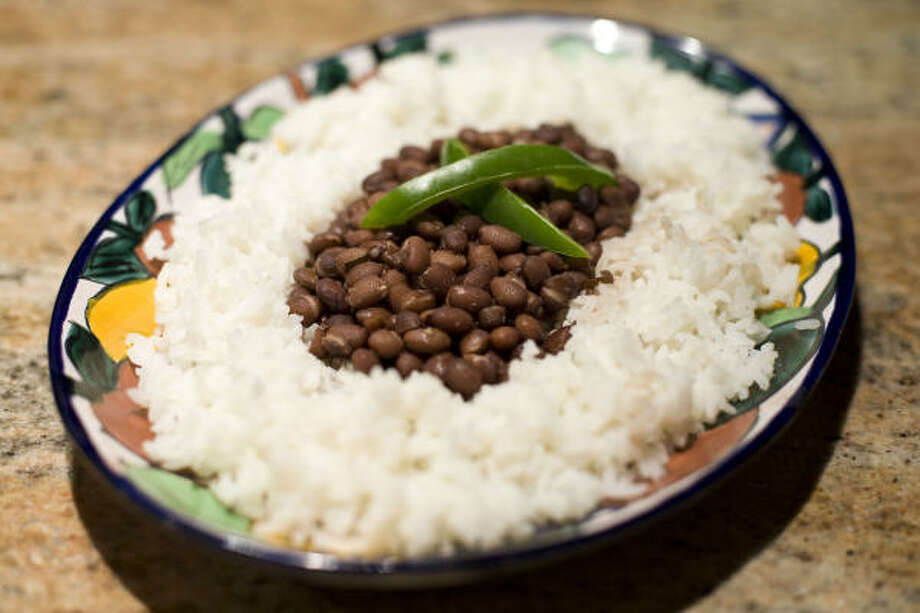 Black beans and rice Photo: Chronicle File