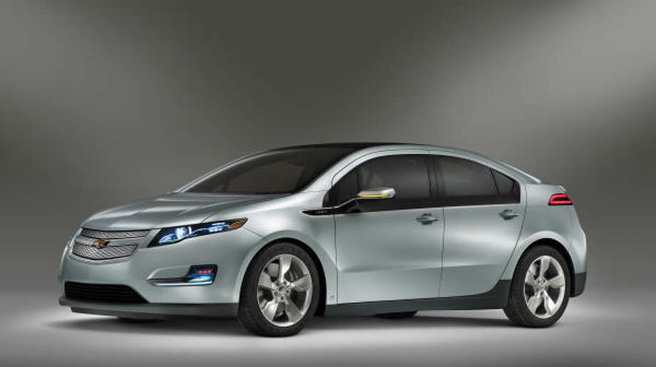 General Motors has announced the Chevrolet's Volt extended-range electric vehicle is expected to achieve city fuel economy of at least 230 miles per gallon. It is scheduled to start production in late 2010 as a 2011 model. Photo: Wieck