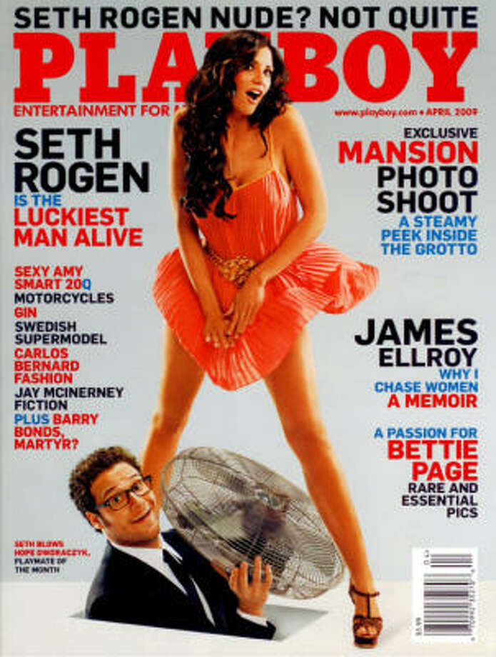 Port Lavaca native Hope Dworaczyk graces the  cover of the April Playboy. Photo: Playboy
