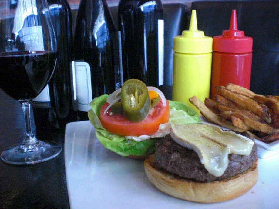 Max's Kobe Burger at Max's Wine Dive was named one of the 50 best burgers in Texas by Texas Monthly magazine. Photo: Max's Wine Dive