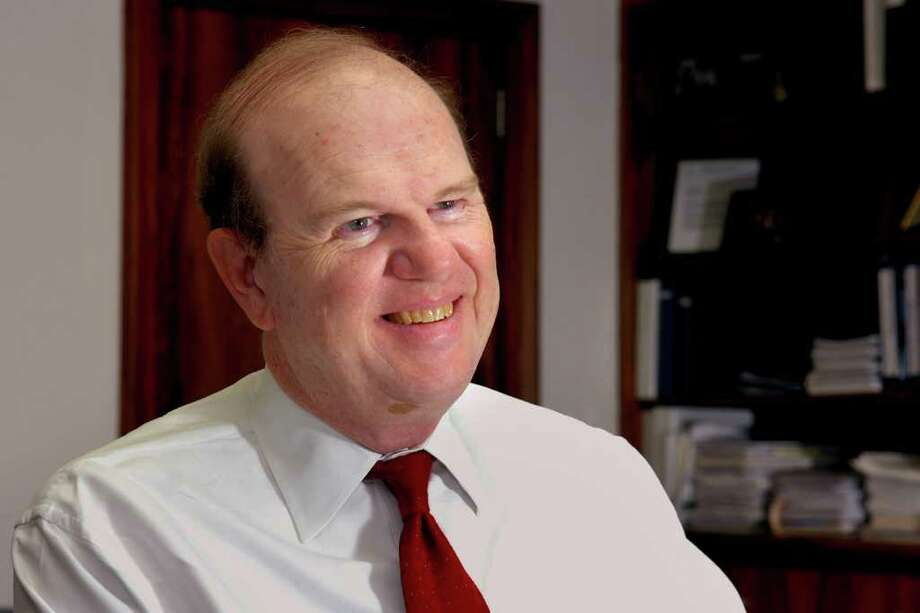 Robert Trefry, retired chief executive officer of Bridgeport Hospital, has been appointed by acting state Education Commissioner George Coleman to be on the new oversight board to run Bridgeport's schools. Photo: Ned Gerard / Connecticut Post