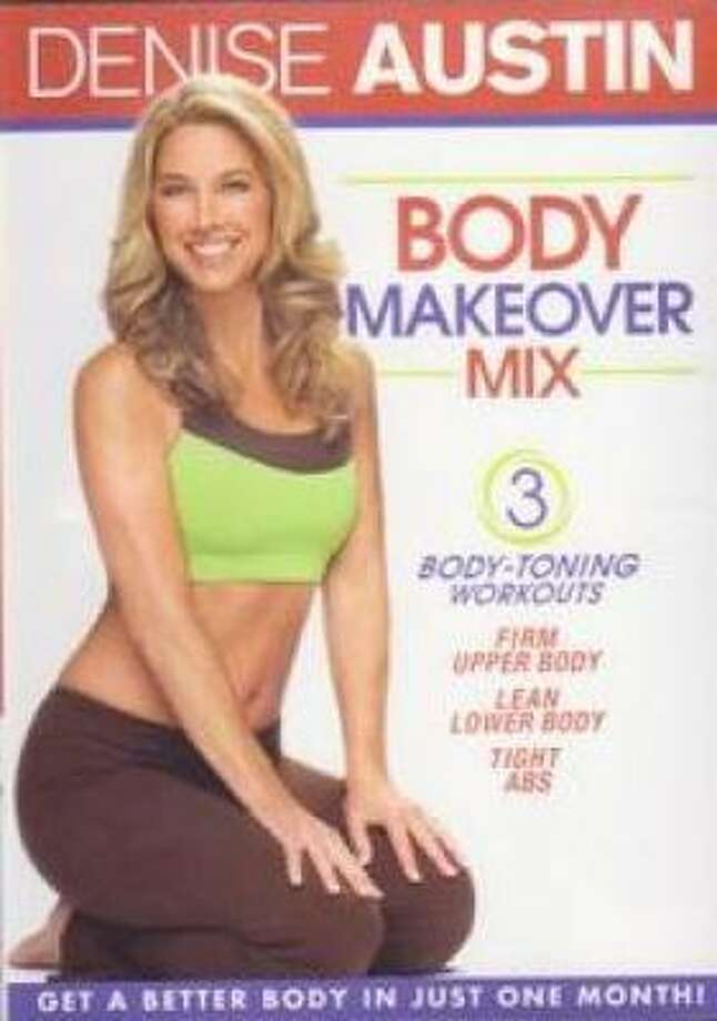 Denise Austin : Body Makeover Mix $14.98 Actors: Denise Austin Format: Closed-captioned, Color, DVD, Full Screen, NTSC Language: English Number of discs: 1 Rating: NR (Not Rated) Studio: Lions Gate DVD Release Date: December 1, 2009 Run Time: 49 minutes