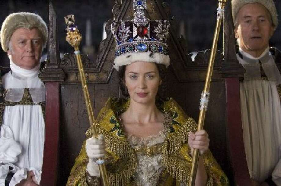 Emily Blunt portrays Queen Victoria in The Young Victoria. Photo: APPARITION FILMS