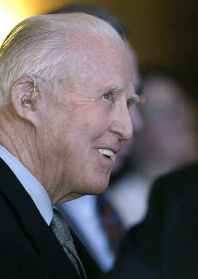 Norman Borlaug was a Nobel laureate who was on Texas A&M University's faculty. Photo: BRIAN RAY, AP FILE
